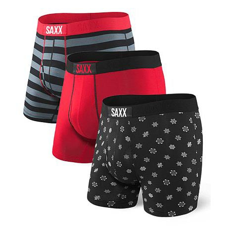 ULTRA Boxer Brief w/ Fly 3-Pack in Holiday