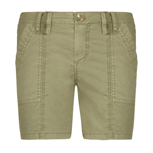 JO Stretch Poplin Shorts in Palm
