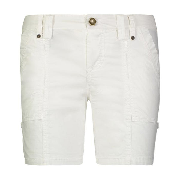 JO Stretch Poplin Shorts in White