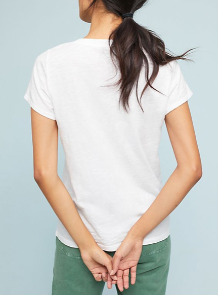Jilian Tee in White