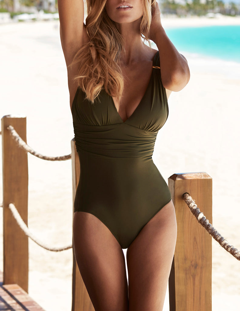 PANAREA One Piece in Olive