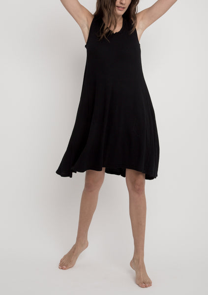 LILY Tank Dress in Black