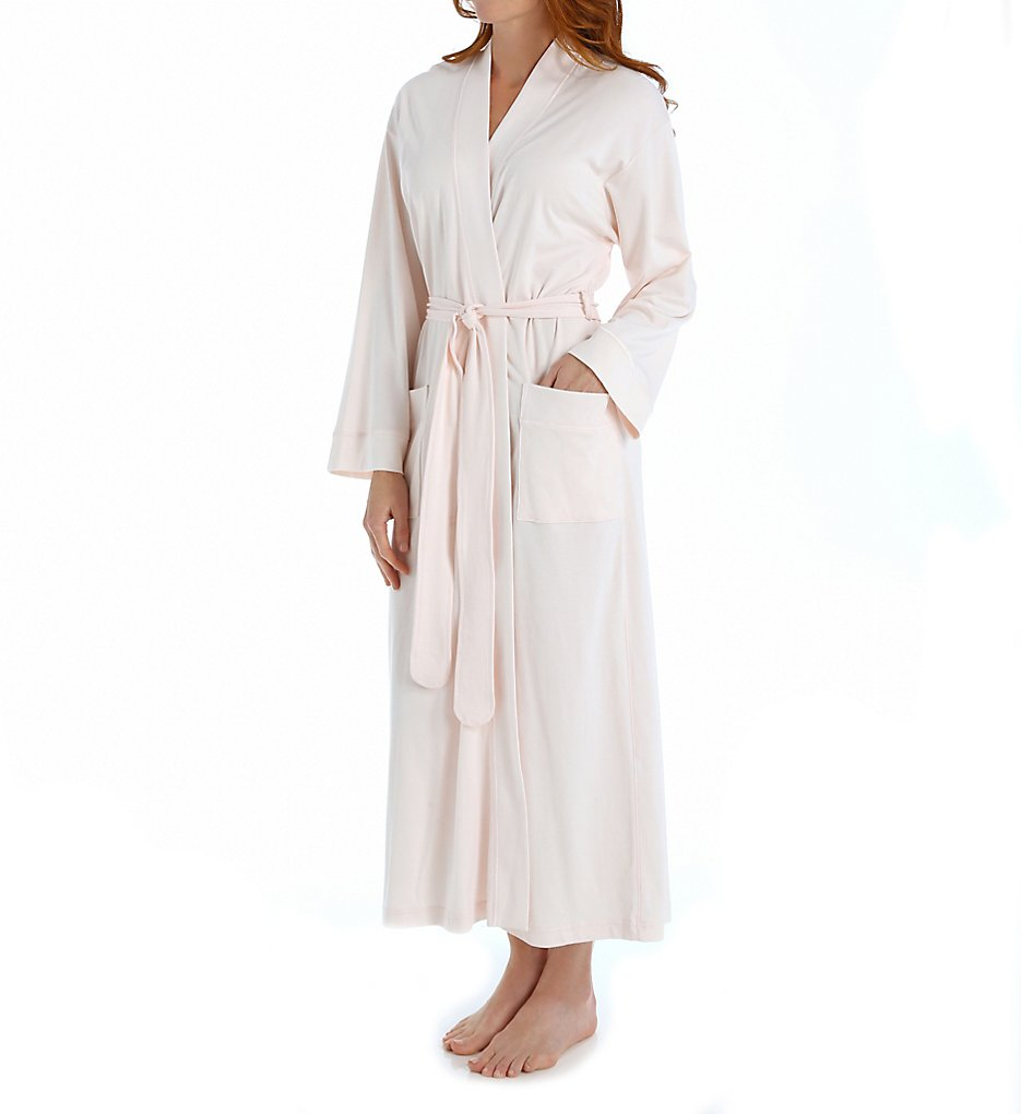 Butterknit Long Robe in Pink
