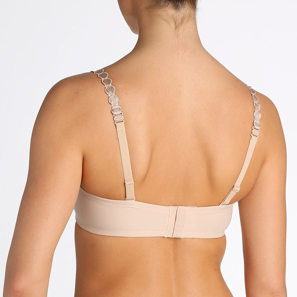 TOM Full-Cup Underwire Bra in Cafe Latte