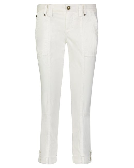 MAE Utility Pants in White