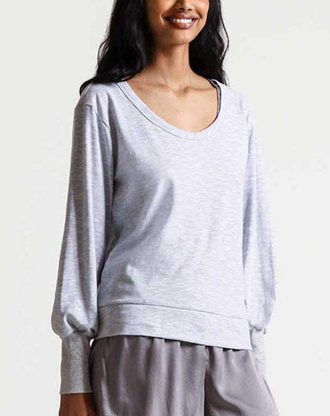 MYLEE Pullover in Silver Shadow