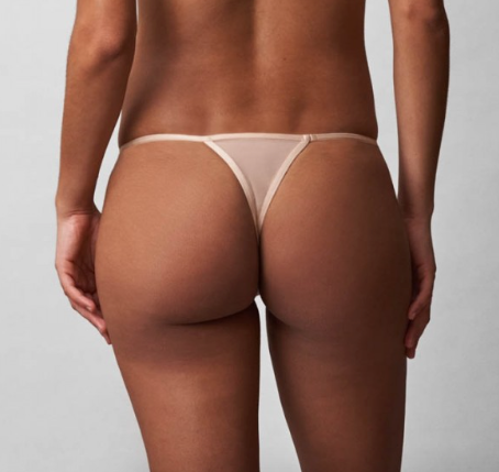 STARGAZER Thong in Naked/Rose Gold
