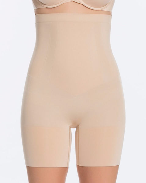 ONCORE High Waist Mid Thigh in Soft Nude