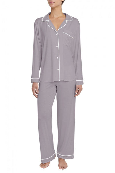 GISELE Shirt & Pant Set in Dusk/Ivory