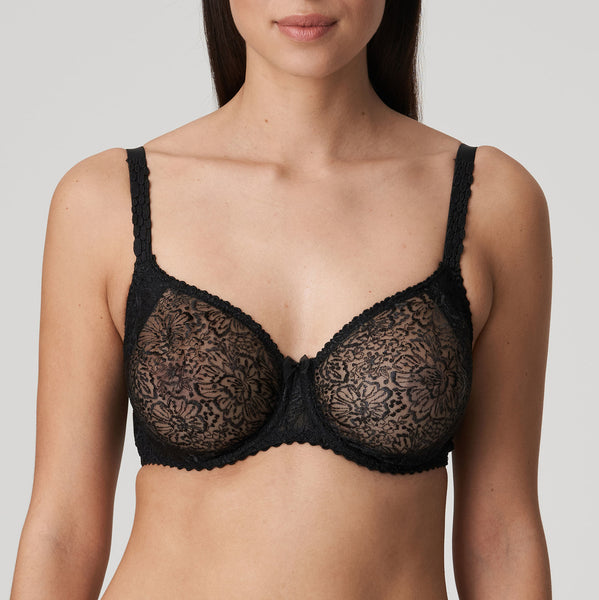 ALARA Seamless Non Padded Bra in Black