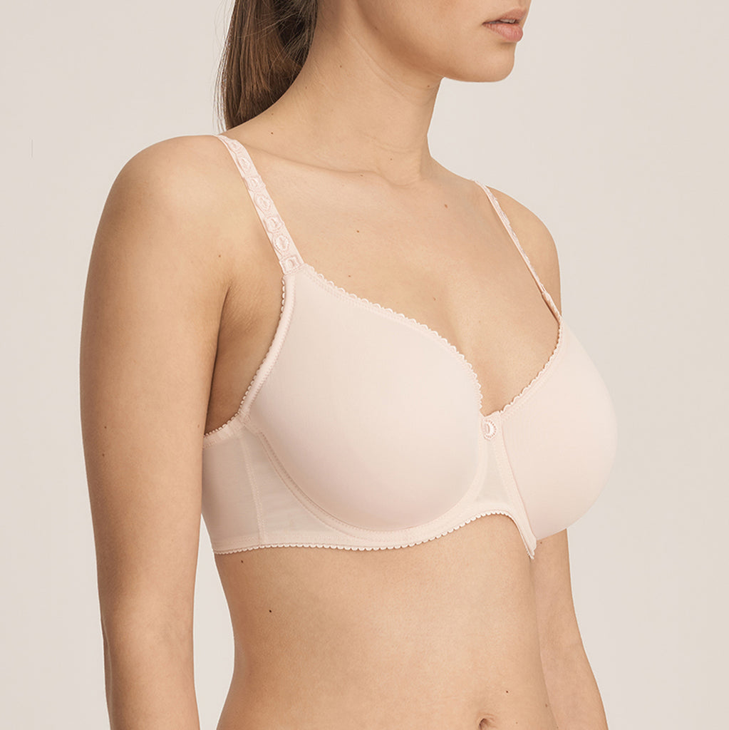 EVERY WOMAN 3D Spacer Bra in Pink Blush