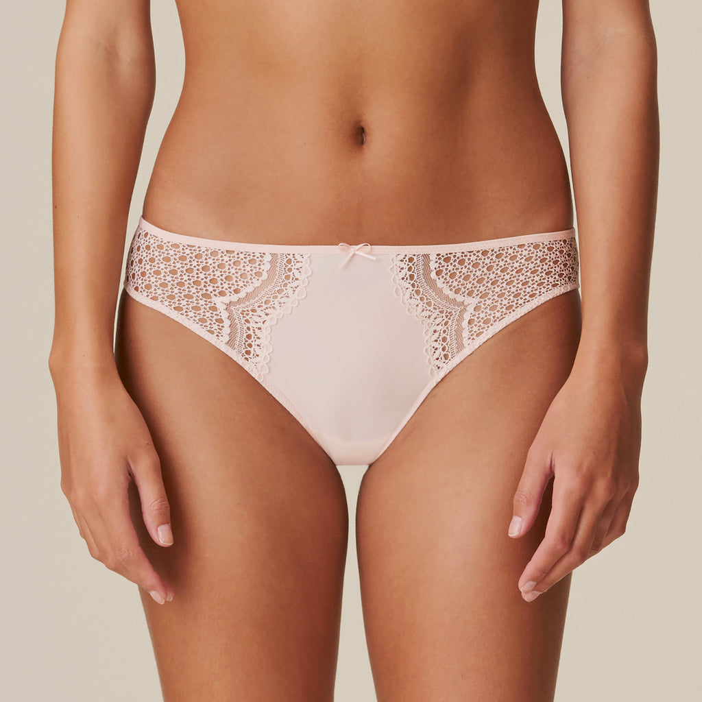 DOLORES Rio Briefs in Glossy Pink