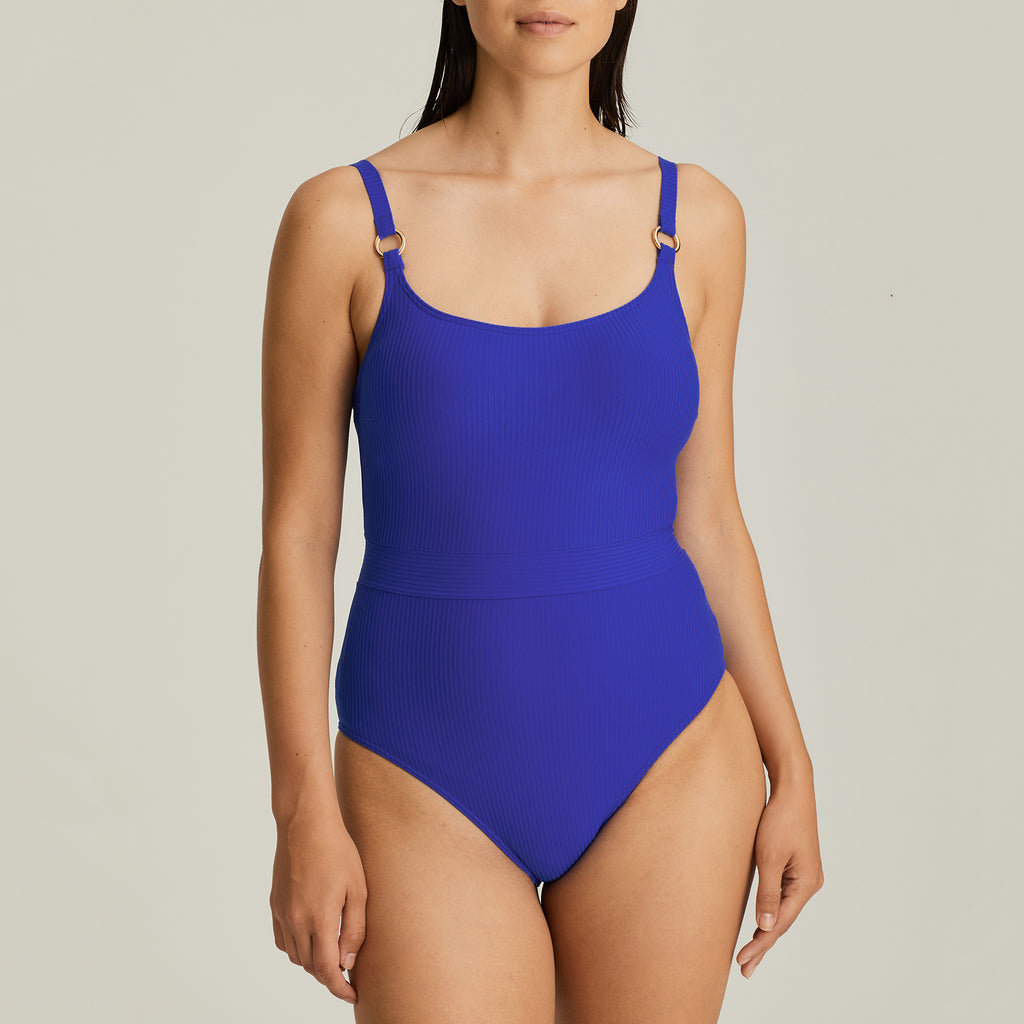 SAHARA Soft Cup One Piece in Electric Blue