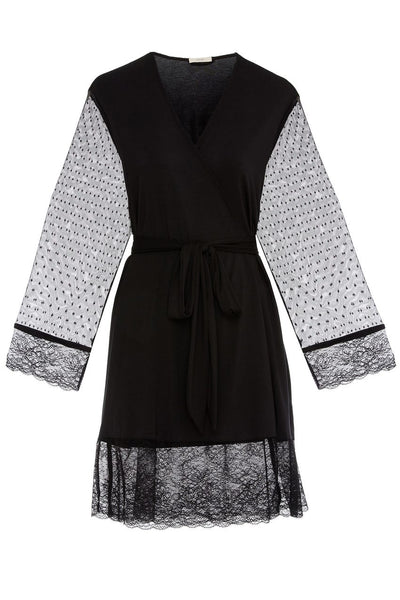 IONA Love Me Robe in Black