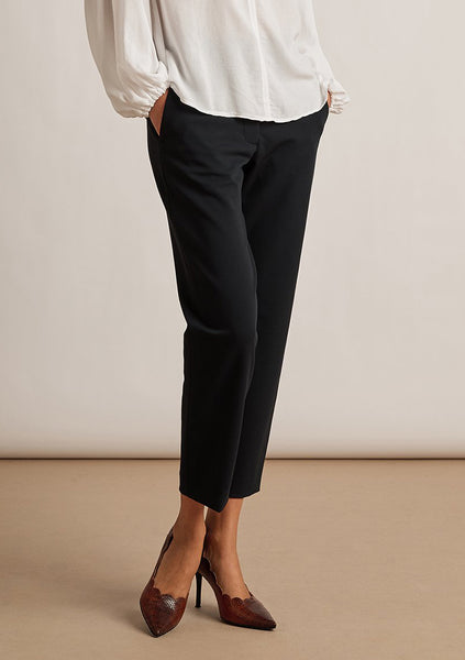 LISA Straight Leg Pant in Black