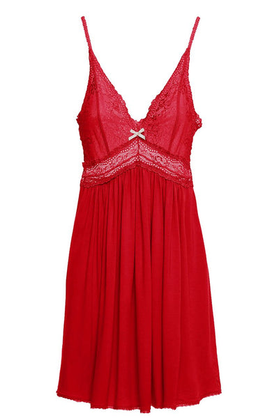 COLETTE Chemise in Scarlet
