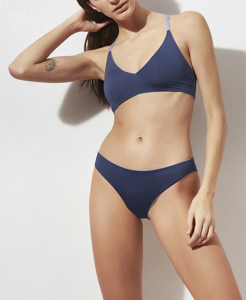 SELBY Reversible Bikini Set in Robin's Egg/Horizon Blue