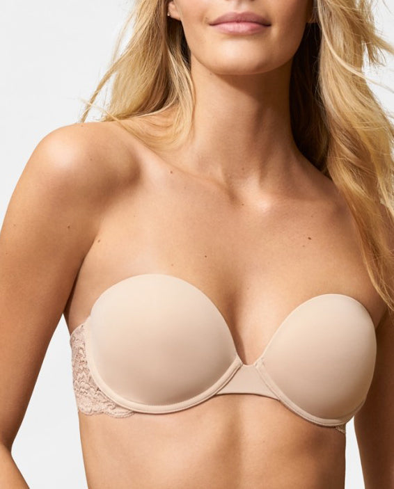 GODDESS Multi-way Strapless Bra in Cashmere