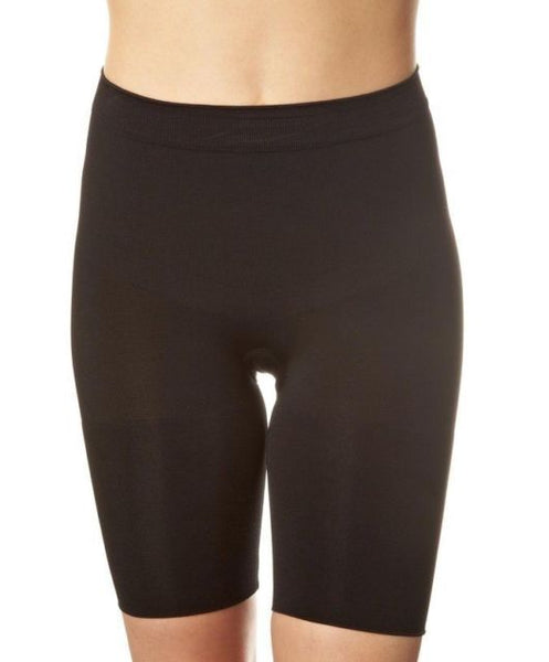 SLIM COGNITO Mid Thigh Shaper in Black