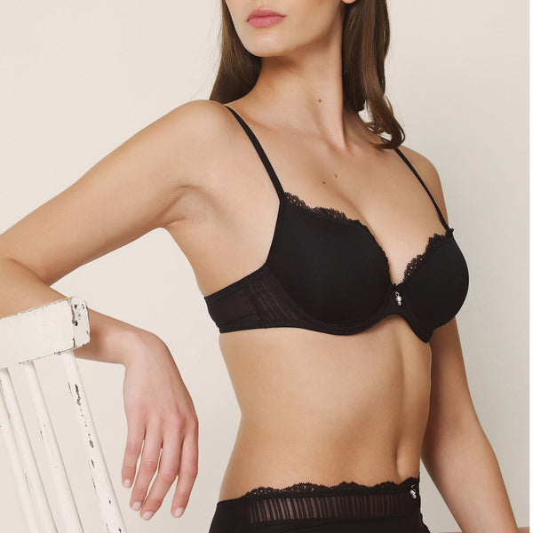 SOFIA Padded Bra in Black