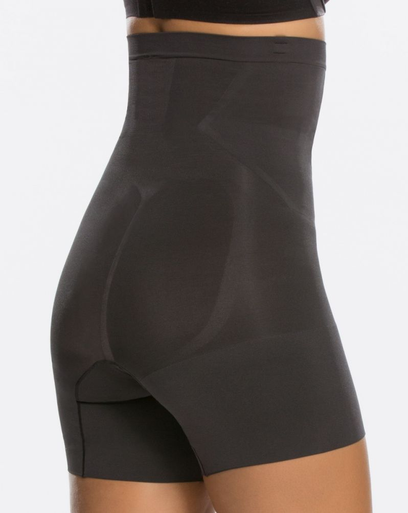 ONCORE High Waist Mid Thigh in Very Black