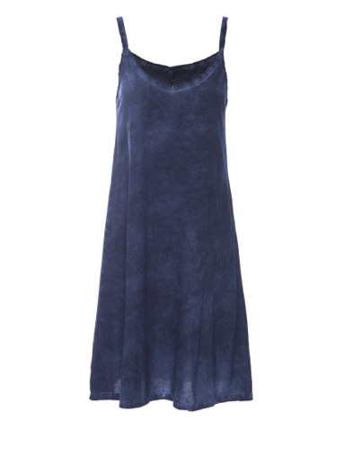 Desert Tank Dress in Navy