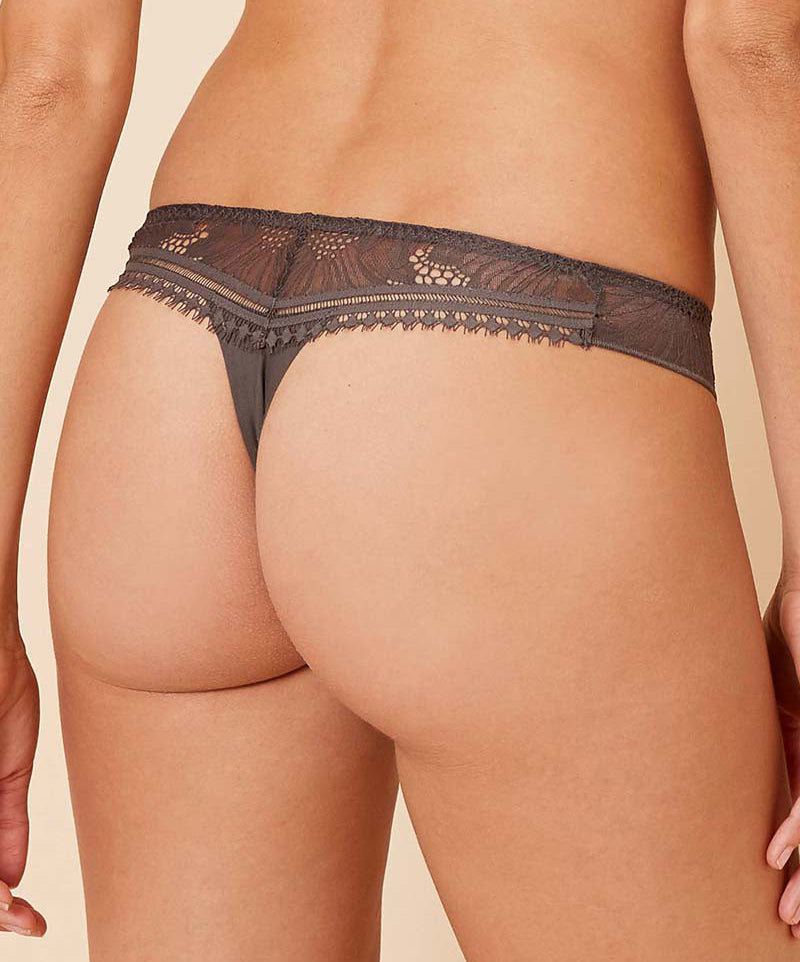 CITADINE Thong in Smoky