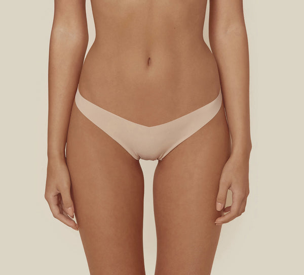 CLASSIC Solid Tiny Thong in Beige