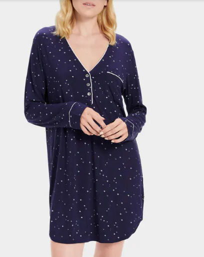 HENNING Night Dress in Night Stars
