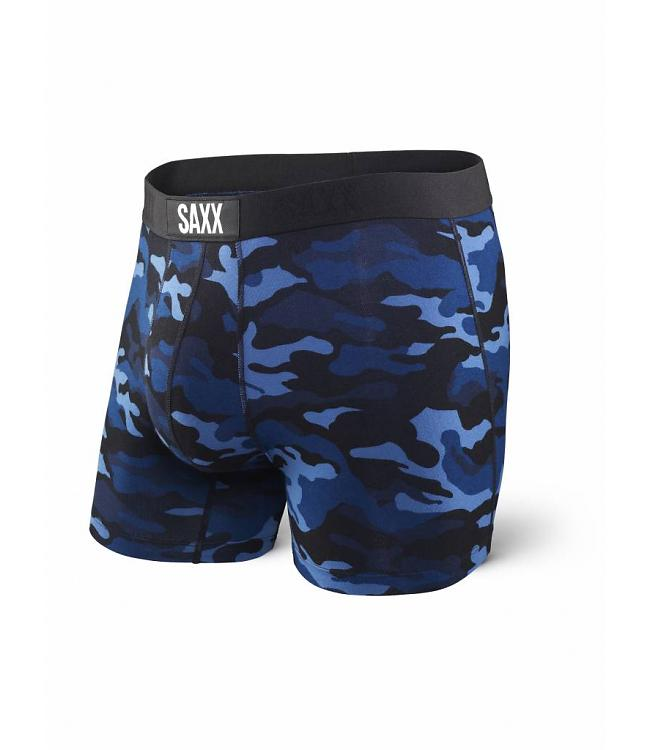 VIBE Boxer Brief in Blue Camo