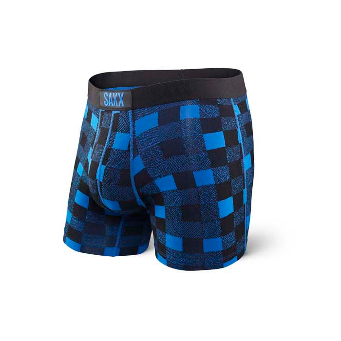 VIBE Boxer Brief in Royal Lumberjack
