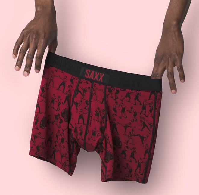 VIBE Boxer Brief in Knockout Red