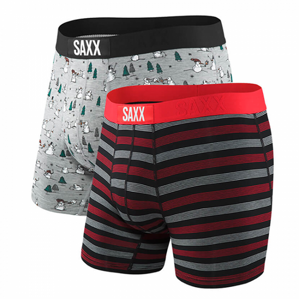 VIBE Boxer Brief 2-Pack in Snowball Fight