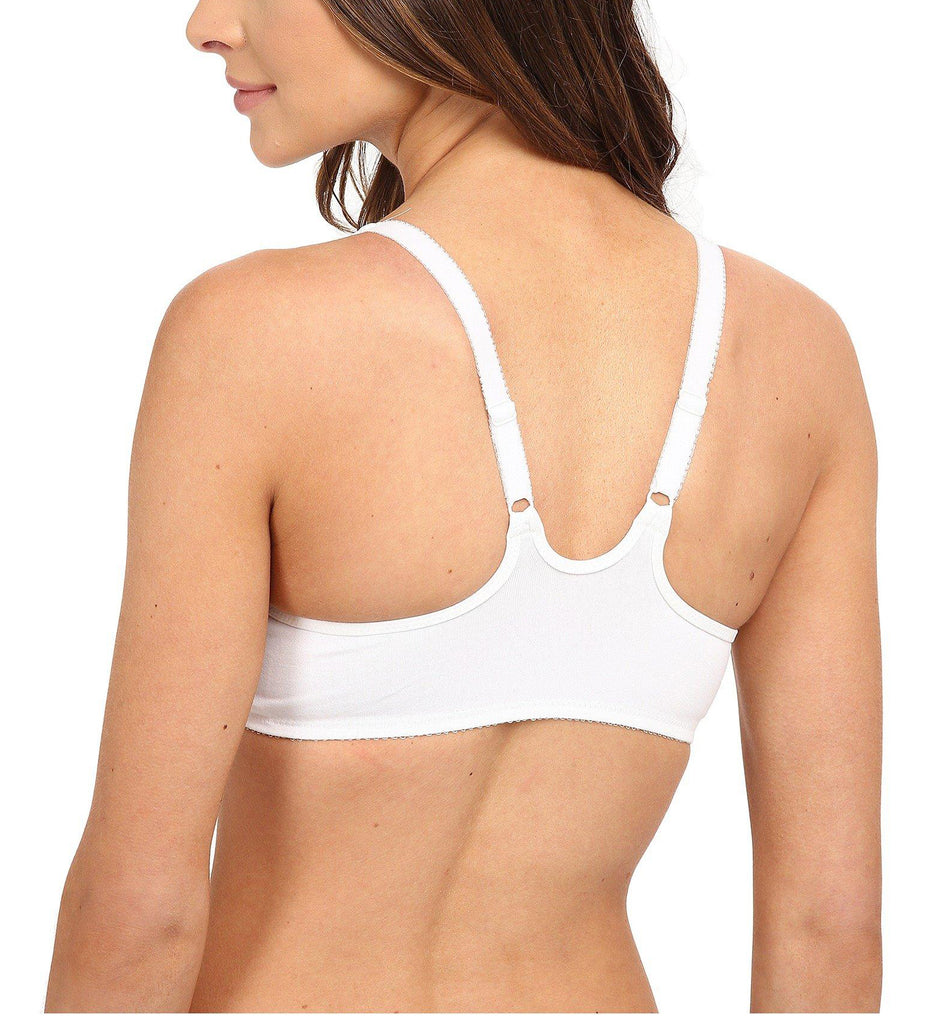 WINDOWS/BODY Front Close Seamless Underwire Bra in White