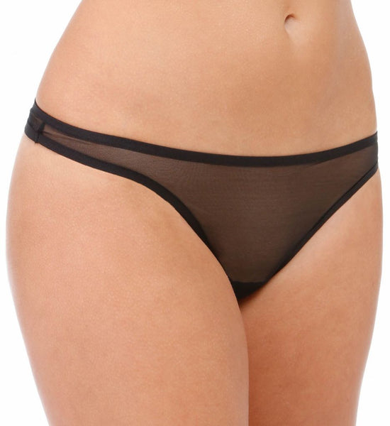 WHISPER Thong in Black