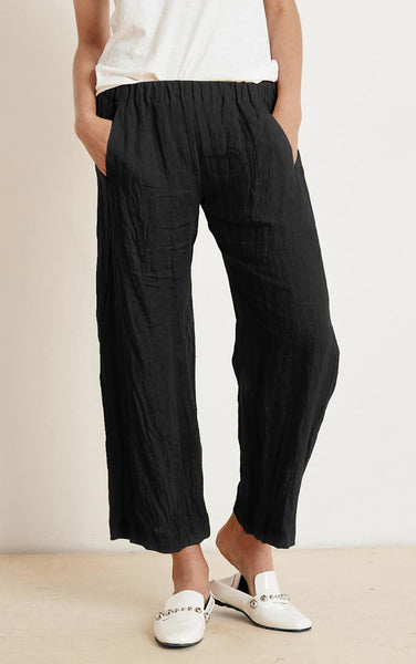 LOLA Linen Pants in Black