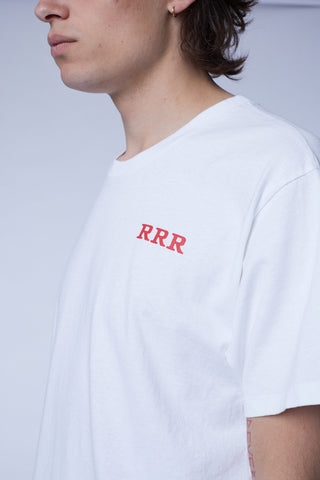 t-shirt logo white