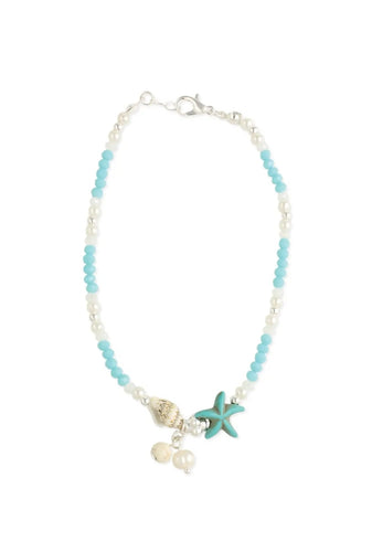 Ocean Treasures Bead Anklet