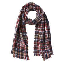 Dean Plaid Scarf