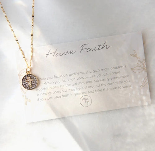 L&E Have Faith Necklace