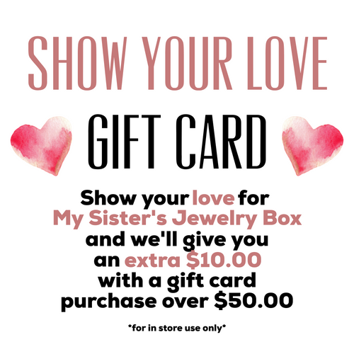 Show Your Love In-Store Gift Card