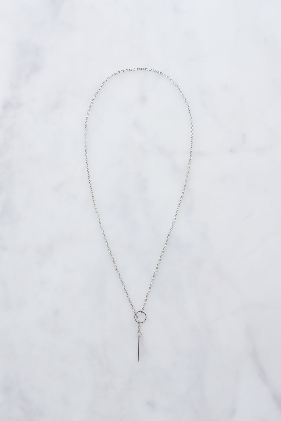 Silver Threader Necklace