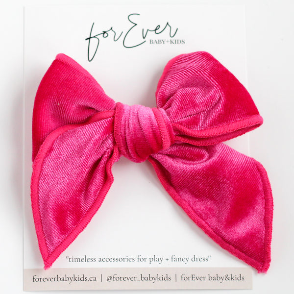Hot Pink // Catherine Maxi Bow