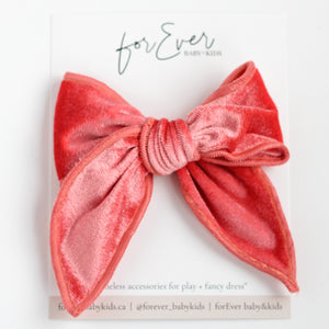 Coral // Catherine Maxi Bow