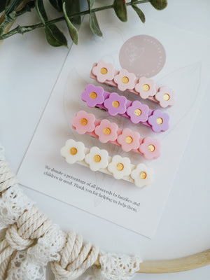 Flower Clip Set
