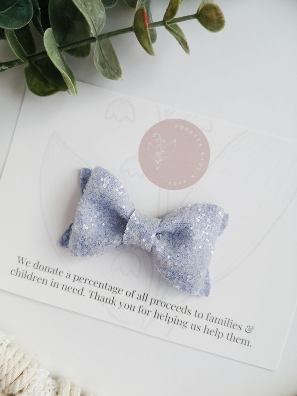 Periwinkle Adeline Bow