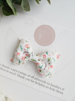 Baby Rose Buds Adeline Bow