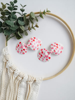 Strawberry Fields Pigtail Set