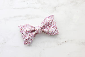 Pink Poodle Adeline Bow