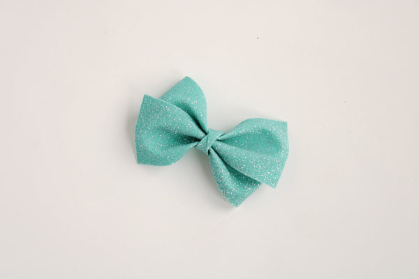 Fairy Dust Teal Alison Bow